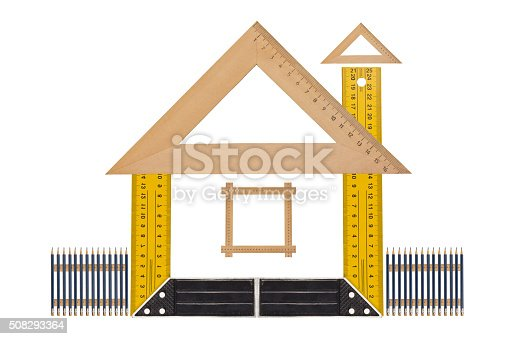 istock Measuring the angle and length 508293364