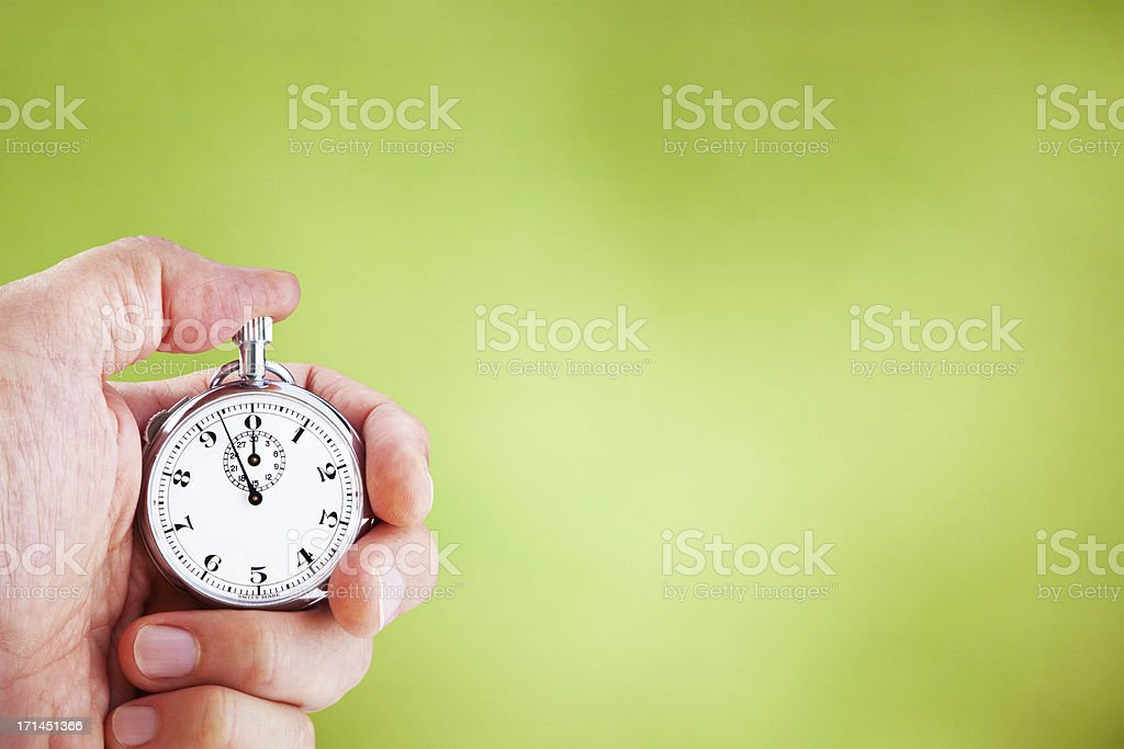 Measuring Time royalty-free stock photo