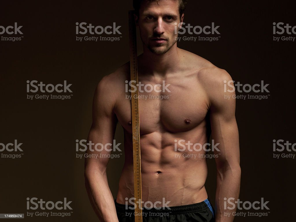 Measuring Up royalty-free stock photo