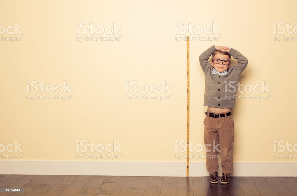 Measuring Up stock photo