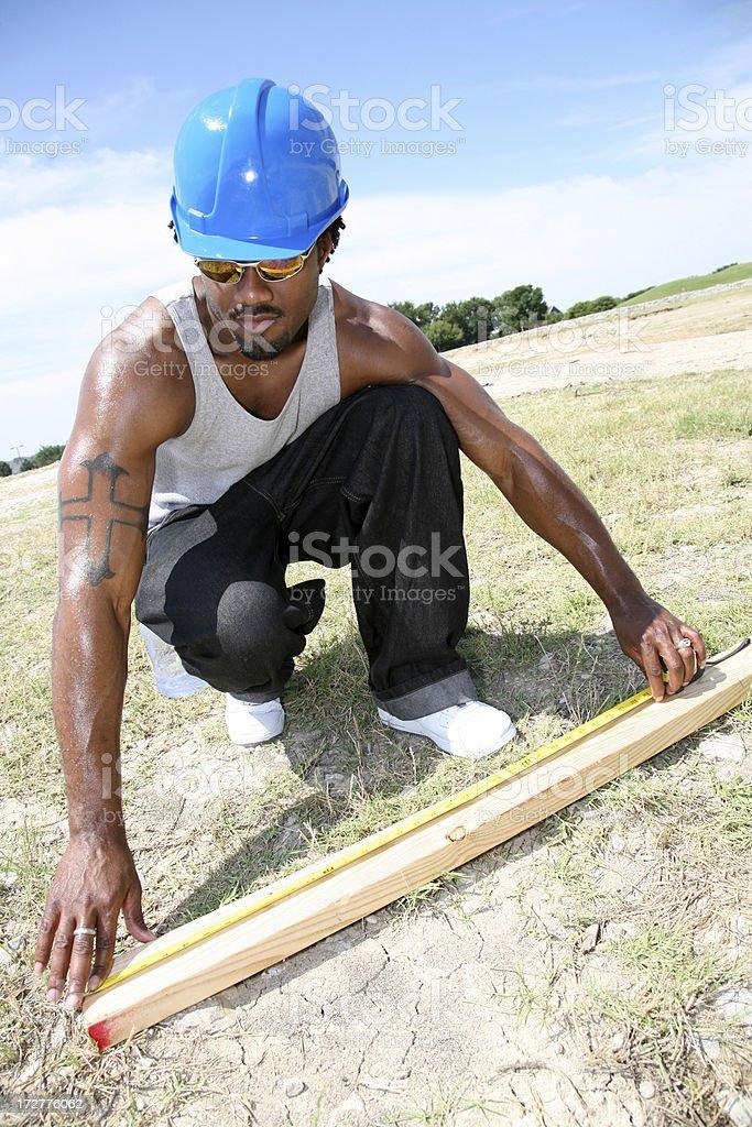 Measuring Wood royalty-free stock photo