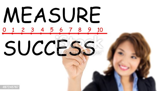 istock Measuring your success 497245767