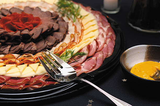 Meat and Cheese Antipasto Tray
