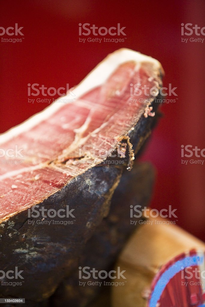 Meat and cheese royalty-free stock photo