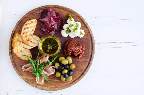 肉芝士盤開胃小吃 - 開胃菜 個照片及圖片檔