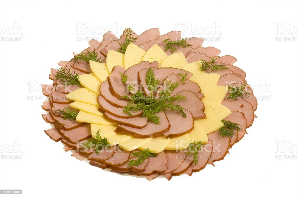 meat and ham royalty-free stock photo