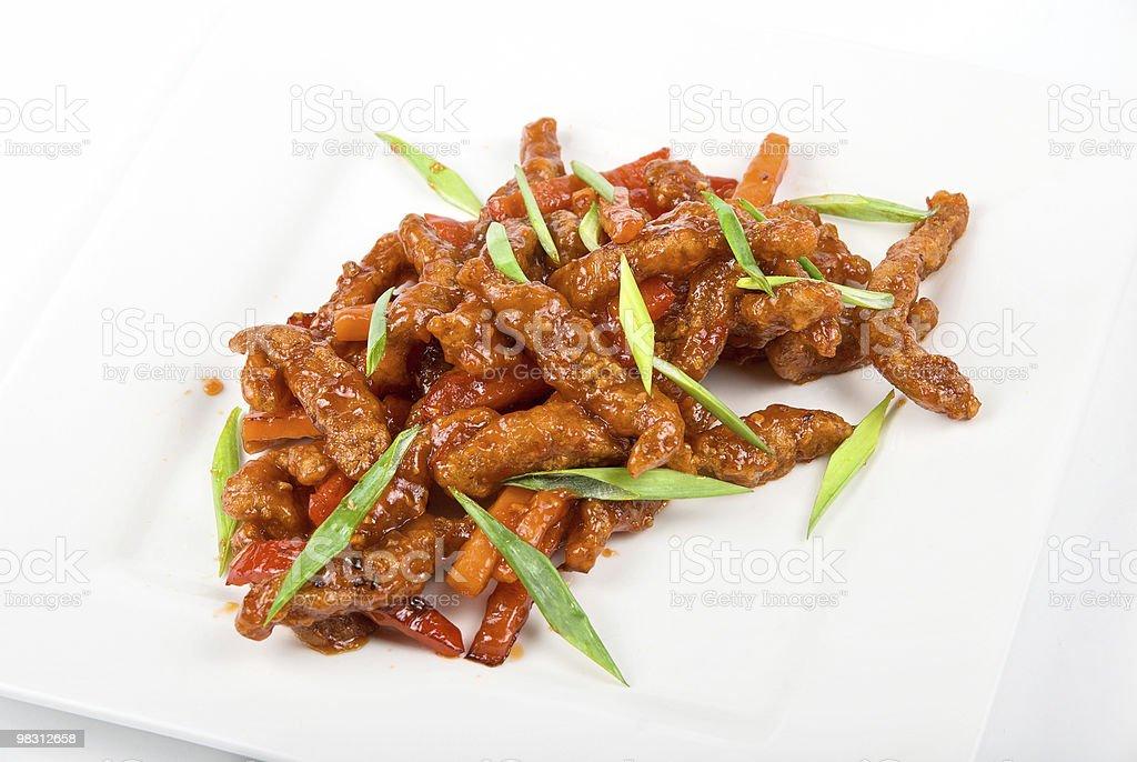 Carne e verdure foto stock royalty-free