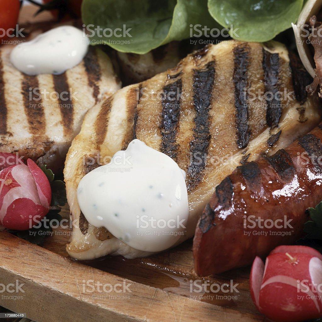 Fleisch-Sortiment Lizenzfreies stock-foto