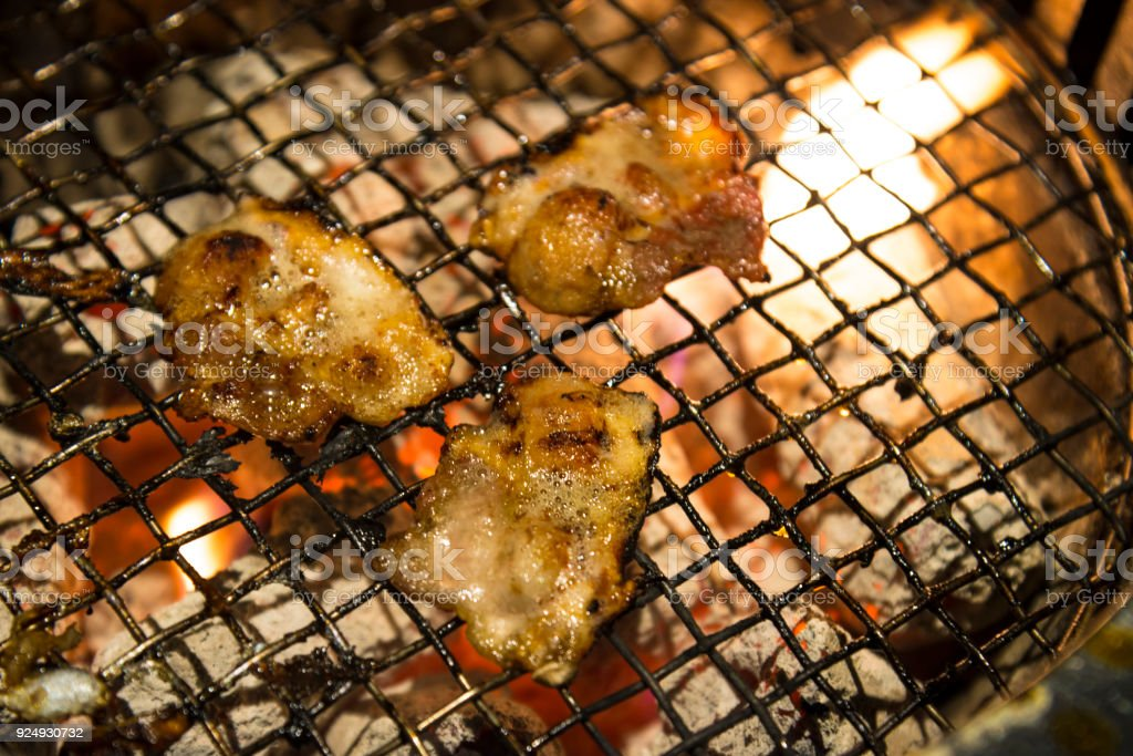 Meat Barbecue Charcoal Japanese Grill In Yakiniku Beef Grill Restaurant In Japan Stock Photo Download Image Now Istock
