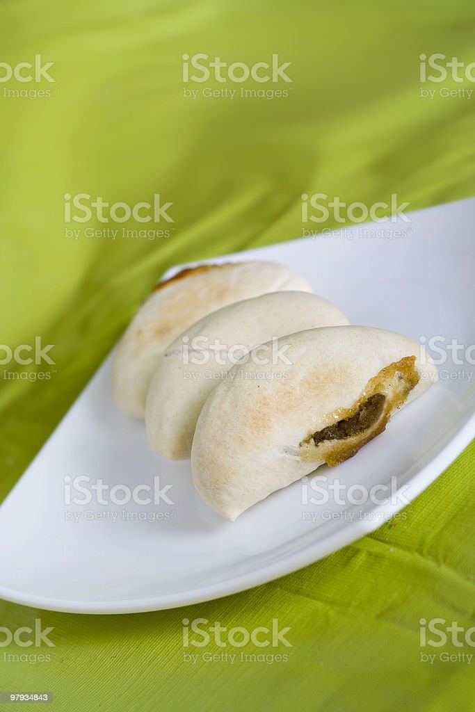 Meat cakes royalty-free stock photo