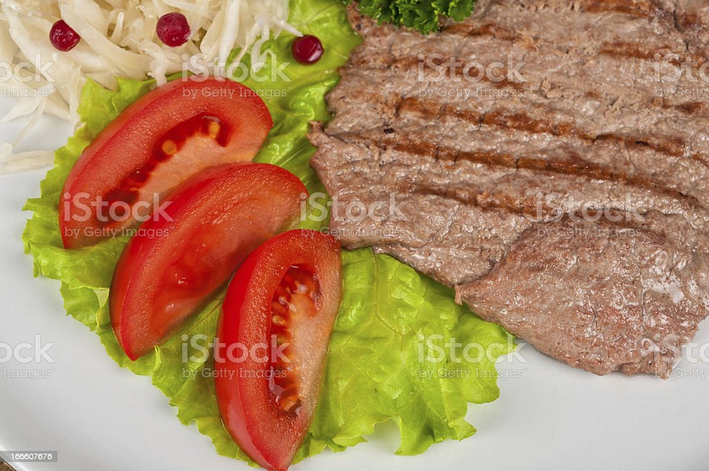 meat chop royalty-free stock photo