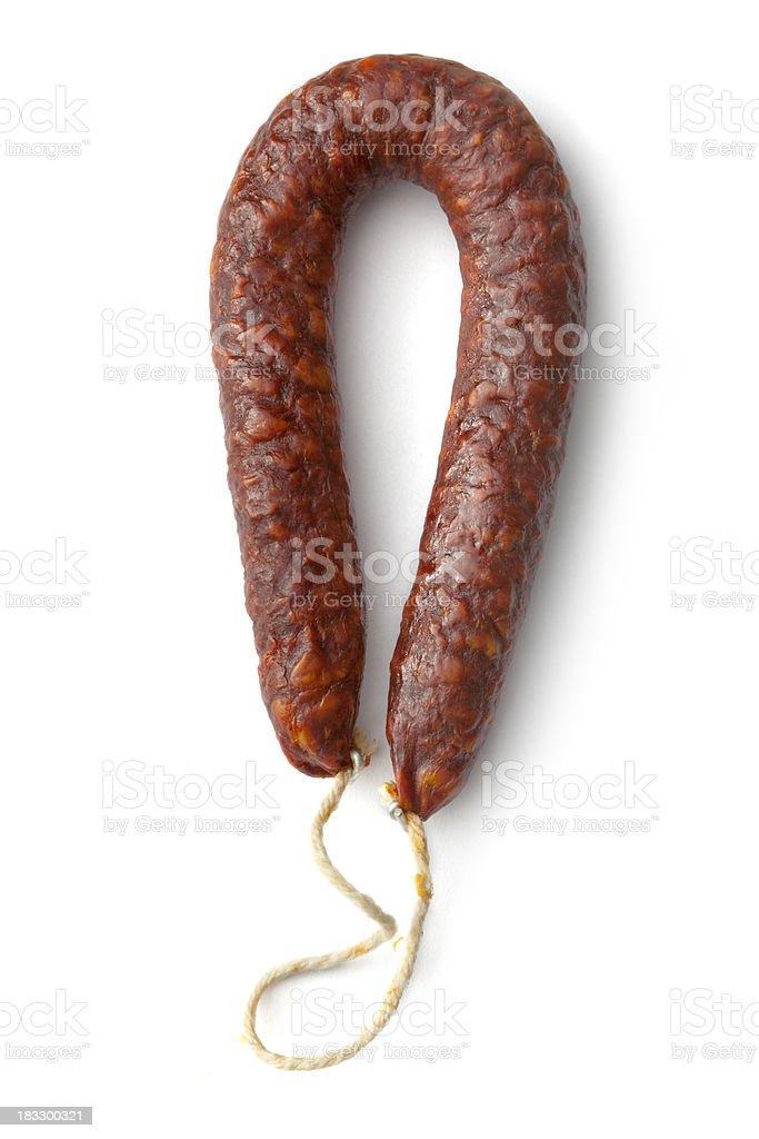 Meat: Chorizo stock photo