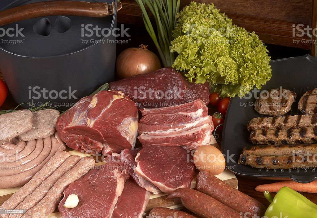 meat culture royalty-free stock photo