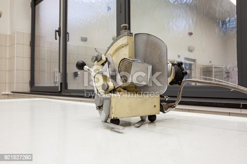 istock meat cutter for corpses 921527260