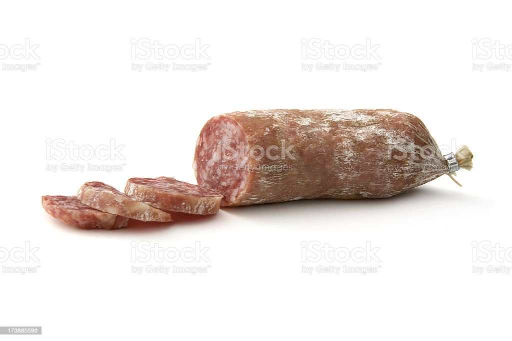 Meat: Italian Sausage royalty-free stock photo
