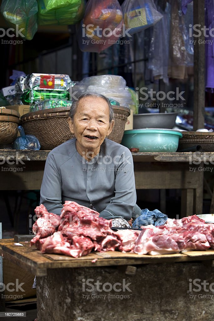 Meat Market royalty-free stock photo