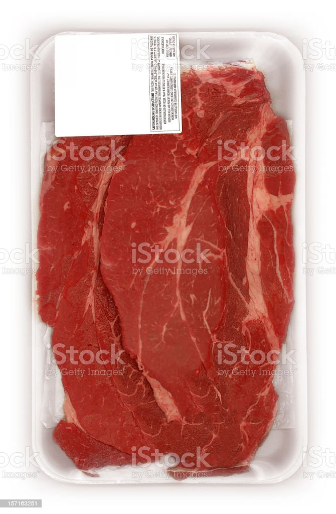 meat packed royalty-free stock photo