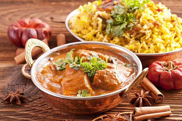 carne pilaf - comida india fotografías e imágenes de stock