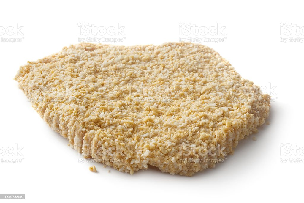 Meat: Schnitzel Raw royalty-free stock photo