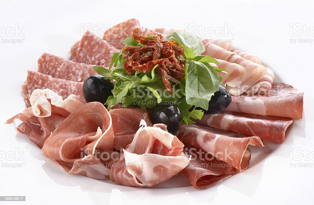 meat snack stock photo