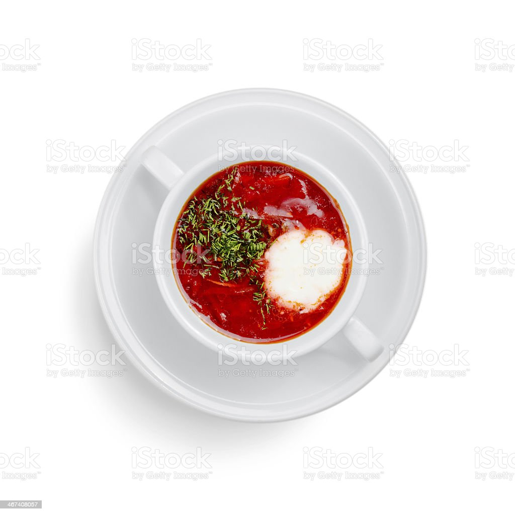 meat soup royalty-free stock photo