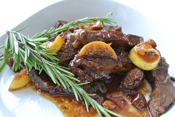 meat stew - braised stock pictures, royalty-free photos & images