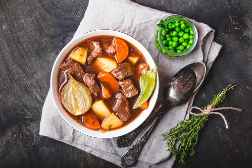 Meat Stew With Beef Stock Photo - Download Image Now