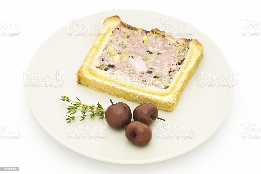 Meat terrine royalty-free stock photo