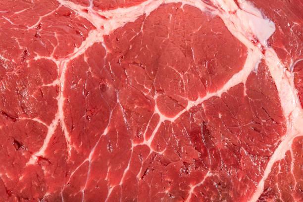 meat texture background - meat texture imagens e fotografias de stock
