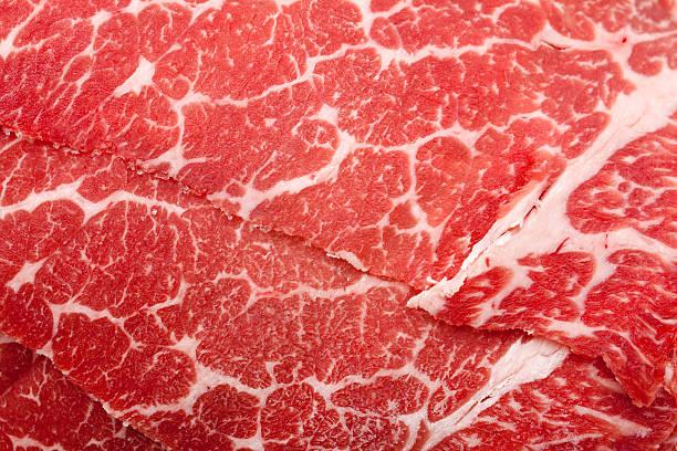 textura de carne - meat texture imagens e fotografias de stock