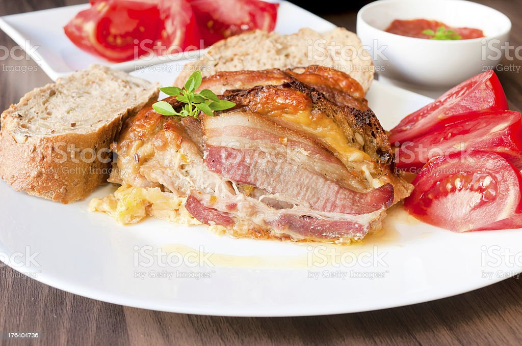 Meat time royalty-free stock photo