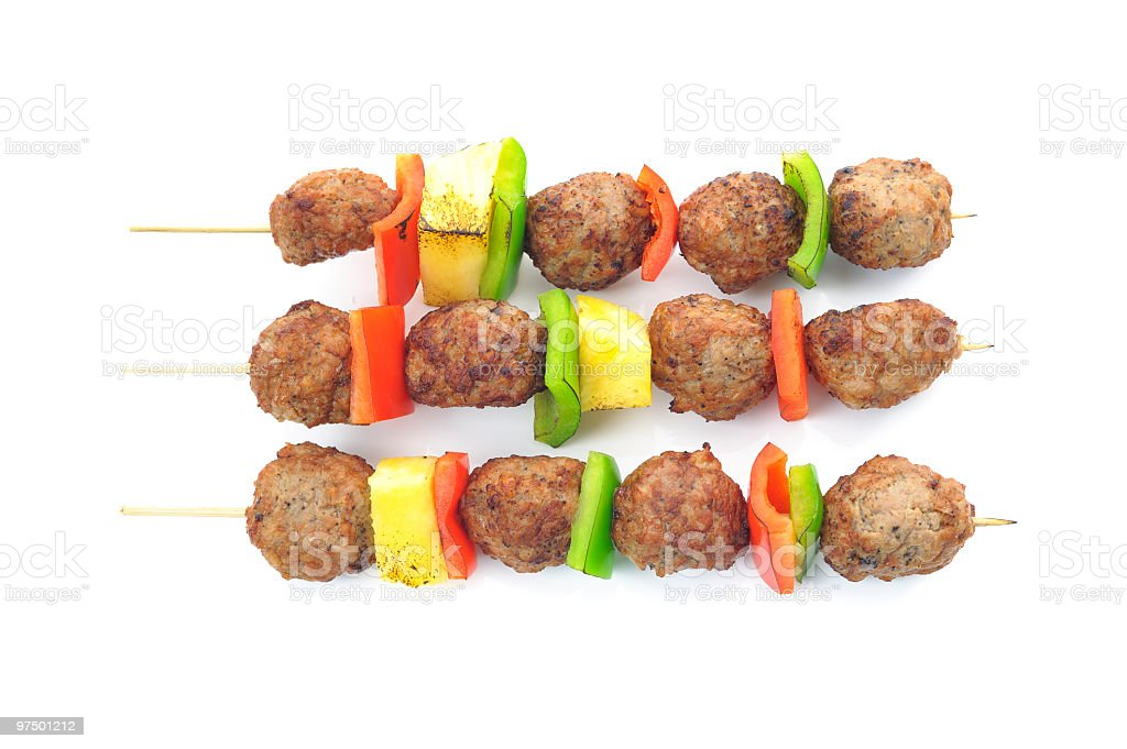 Meatball royalty-free stock photo