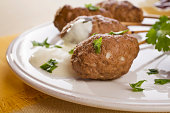 Meatballs Moroccan Kebab Lamb Keftas