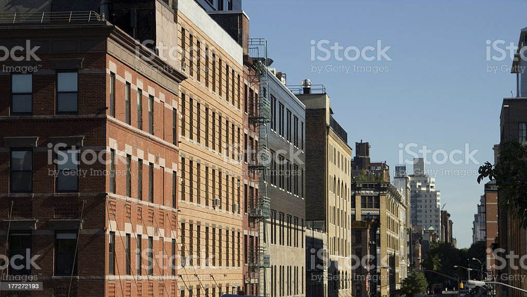 Meatpacking District, NY stock photo