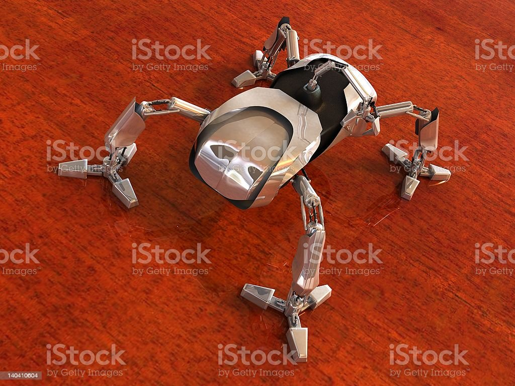Mech Spider stock photo