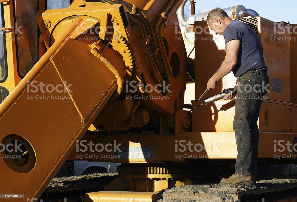 Mechanic 0010 royalty-free stock photo