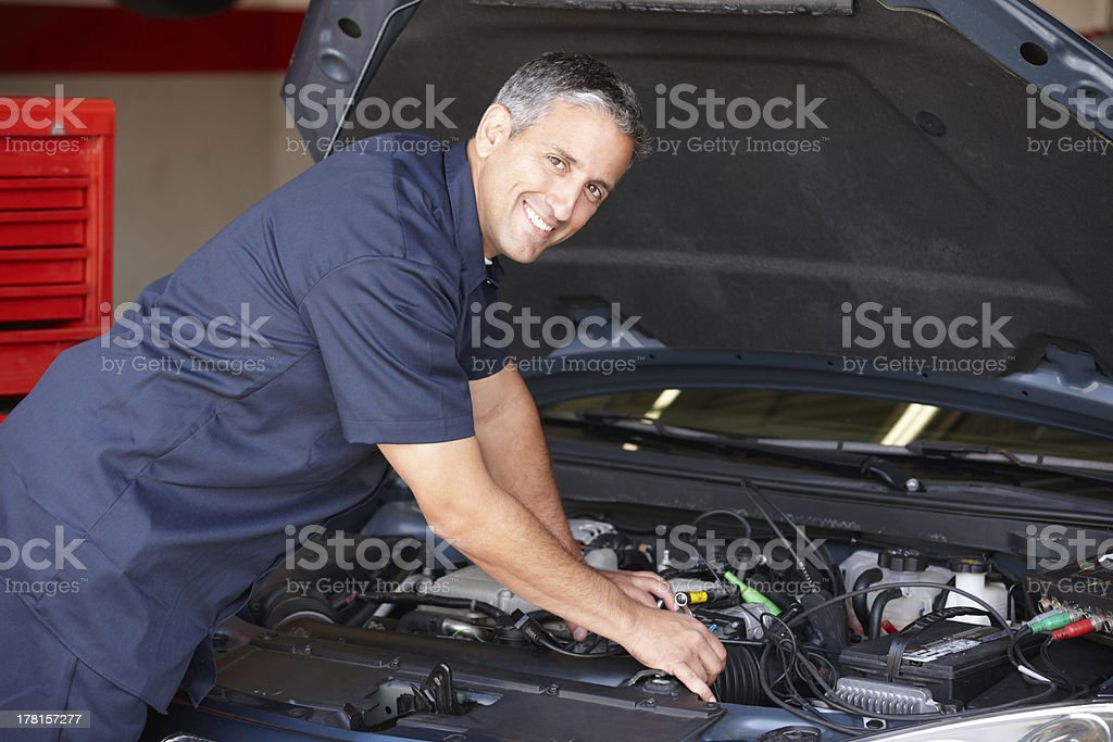 Mechanic at work​​​ foto