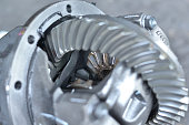 istock Mechanic in the garage 1257365364
