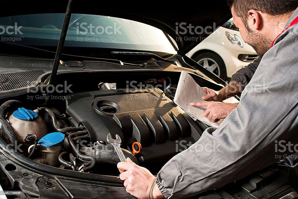 Mechaniker. – Foto