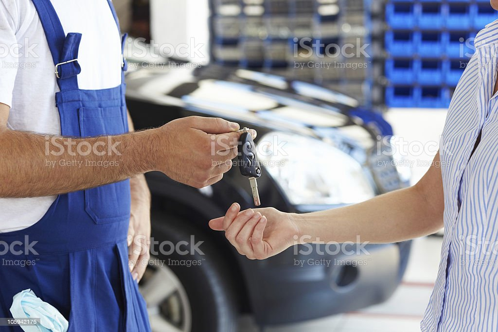 mechanic - Royalty-free 20-29 Years Stock Photo