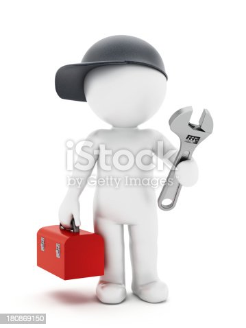 istock Mechanic 180869150