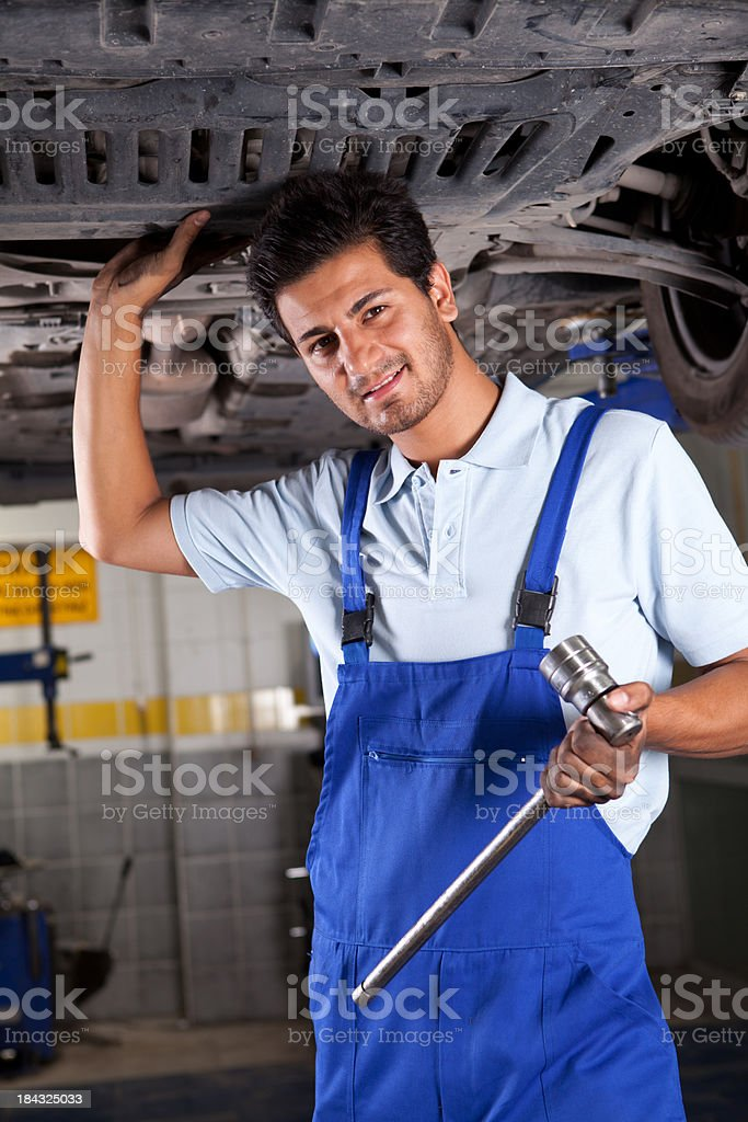 Mechanic royalty-free stock photo
