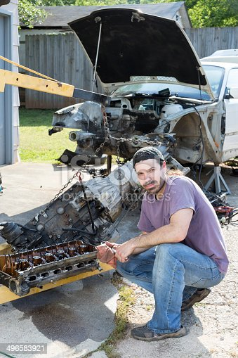 498879174 istock photo Mechanic 496583921