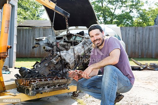 498879174 istock photo Mechanic 496583923