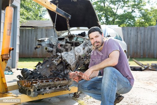 498879174 istock photo Mechanic 496583925