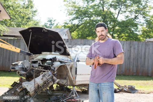 498879174 istock photo Mechanic 496583931