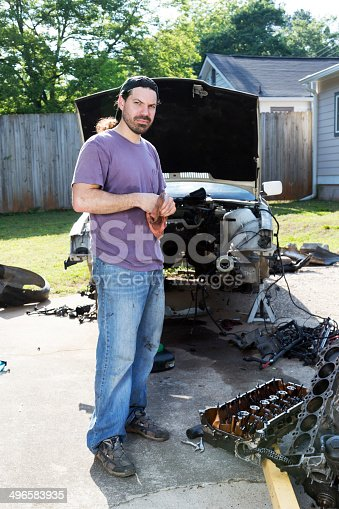 498879174 istock photo Mechanic 496583935