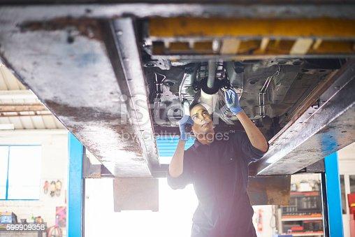 599909112 istock photo Mechanic 599909358
