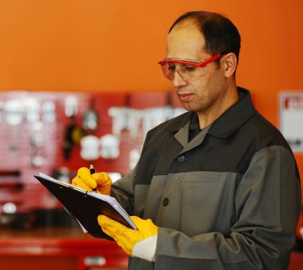 Mechanic write a client list