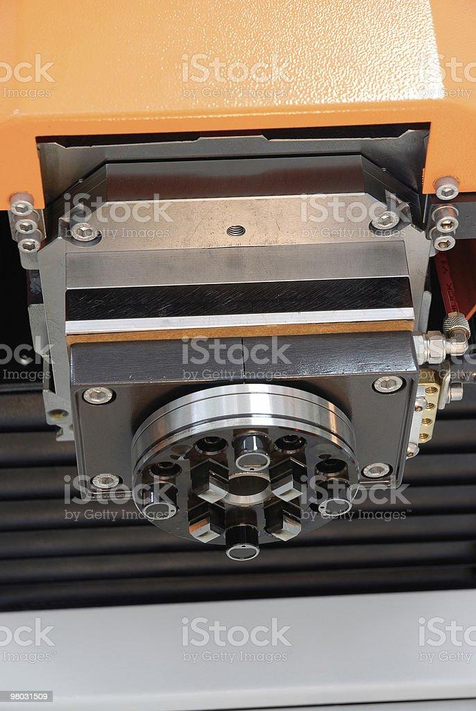 mechanical chuck royalty-free stock photo